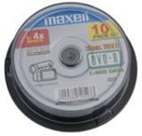 Диск DVD-R 8см 1.4Gb 4x Maxell CakeBox 10