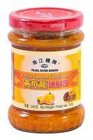 """Соус из хайнаньского перца чили """"Pearl River Bridge. Жёлтый фонарь"""" (240 г)"""
