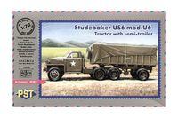 """Грузовик US6 """"Студебекер"""" модель U6 (масштаб: 1/72)"""