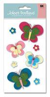 """Стикеры для скрапбукинга """"Джоли бутик. Игривые бабочки"""" (арт. EKS-SPJBLG206)"""