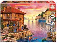 """Пазл """"Средиземноморская гавань. Доминик Дэвисон"""" (5000 элементов)"""