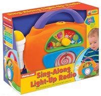 """Музыкальная игрушка """"Радио с микрофоном"""" (со световыми эффектами)"""