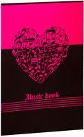 """Тетрадь для нот """"Music Book"""" (в ассортименте)"""
