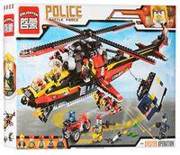"""Конструктор """"Police. Вооруженное столкновение"""" (654 детали)"""