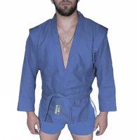 Куртка для самбо AX5 (р. 54; синяя; без подкладки)