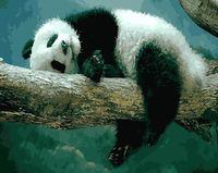 """Картина по номерам """"Сладкие сны панды"""" (400х500 мм)"""