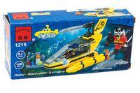 """Конструктор """"Pigboat. Подводный быстроходный аппарат"""" (100 деталей)"""