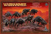 """Набор миниатюр """"Warhammer FB. Chaos Warhounds"""" (83-07)"""