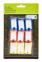 Набор брелоков для ключей пластмассовых (9 шт.; арт. 159600120)