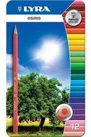 """Цветные карандаши """"OSIRIS"""" (12 цветов; металлическая коробка)"""