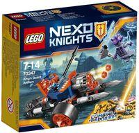 """LEGO Nexo Knights """"Самоходная артиллерийская установка королевской гвардии"""""""