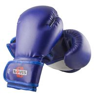 Перчатки боксёрские LTB-16301 (S/M; синие; 8 унций)