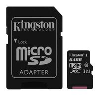 Карта памяти Kingston Canvas Select microSDXC 64GB (SDCS/64GB)
