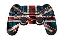 """Наклейка защитная для геймпада """"UK flag"""" (p4hp3060) (PS4)"""