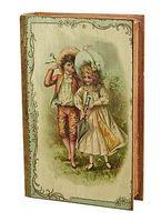 Шкатулка деревянная (27х18х7 см; арт. 7790111)