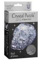 """Пазл-головоломка """"Crystal Puzzle. Череп серебристый"""" (49 элементов)"""