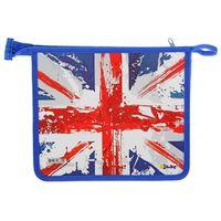 """Папка для тетрадей А5 """"Британский флаг"""""""