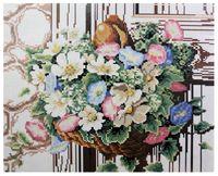 """Алмазная вышивка-мозаика """"Букет цветов"""" (400x500 мм)"""