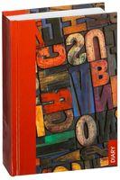 """Ежедневник недатированный """"Wooden Letters"""" (А6)"""