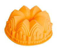 """Форма для выпекания силиконовая """"Шотландский кекс"""" (220х88 мм; персиковая)"""