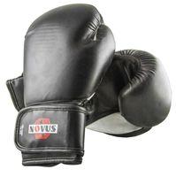 Перчатки боксёрские LTB-16301 (S/M; чёрные; 8 унций)