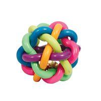 """Игрушка для собак """"Мяч-лабиринт с колокольчиком"""" (8,5 см)"""