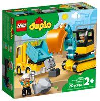 """LEGO Duplo """"Грузовик и гусеничный экскаватор"""""""