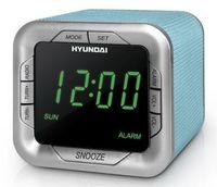 Радиобудильник Hyundai H-1505U (аквамарин/зеленый)