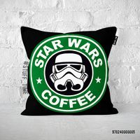 """Подушка """"Звездные войны. Кофе"""" (арт. 005)"""