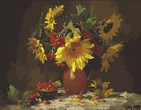 "Картина по номерам ""Букет. Осень"" (400x500 мм; арт. MG296)"