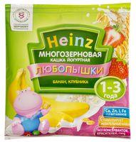 "Детская каша Heinz Baby ""Любопышки. Йогурт, банан, клубника"" (30 г)"