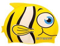 Шапочка для плавания (жёлтая; арт. FC201)