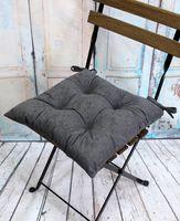 """Подушка на стул """"Velours"""" (42х42 см; серая)"""