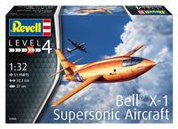 """Сборная модель """"Экспериментальный самолет Bell X-1 Supersonic"""" (масштаб: 1/32)"""