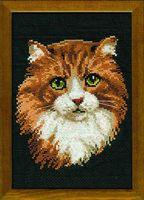 """Вышивка крестом """"Рыжий кот"""" (арт. 765)"""