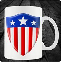 """Кружка """"Капитан Америка"""" (art.7)"""