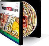 Диск CD-R 700Mb 52x Mirex CD-aRt MONEY REVIEW (10 штук в портмоне)