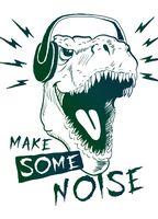 "Открытка ""Make some noise"""