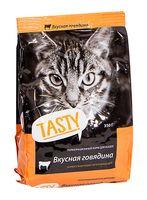 Корм сухой для кошек (350 г; говядина)