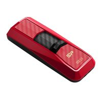 USB Flash Drive 32Gb Silicon Power Blaze B50 (Red carbon)