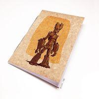 """Блокнот крафт """"Стражи Галактики"""" А7 (арт. 900)"""