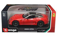 "Модель машины ""Bburago. Ferrari 599 GTO"" (масштаб: 1/32)"