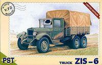 Грузовик ЗиС-6 (масштаб: 1/72)