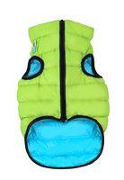 "Куртка двусторонняя ""Airy Vest"" (38-40 см; салатово-голубая; арт. 1843)"