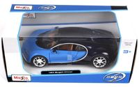 """Модель машины """"Bugatti Chiron"""" (масштаб: 1/24)"""