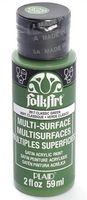 "Краска акриловая ""FolkArt Multi-Surface"" (классический зеленый, 59 мл; арт. PLD-02917)"