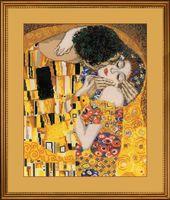 """Вышивка крестом """"Густав Климт. Поцелуй"""" (арт. 1170)"""