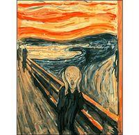 """Картина по номерам """"Эдвард Мунк. Крик"""" (400x500 мм)"""