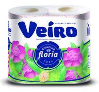 """Туалетная бумага """"Floria. Душистый пион"""" (4 рулона)"""