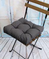 """Подушка на стул """"Monochrome"""" (40х40 см; серая)"""